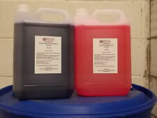 Chemical Toilet Fluid Contract Blue/Pink (Boats,Caravans,Camping)  2 x 5 litres