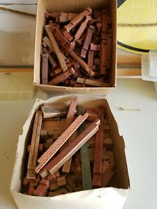 Lincoln Logs Vintage Lot - You Get Everything In Picture Large lot