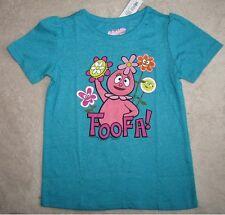 YO GABBA GABBA *Foofa & Flowers* S/S Tee T-Shirt Toddler sz 5T