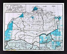 1978 Alaska Map - National Petroleum Reserve Barrow Actic Ocean Noatak Ikpikpuk