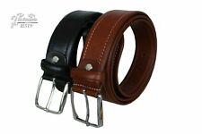 Cinturón para hombre hecho a mano en piel auténtica, de fabricación...