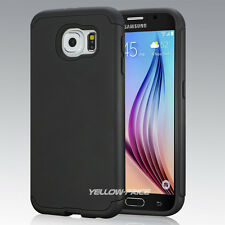 Samsung Galaxy S6 Armor Case, [EXTREME PROTECTION] Hybrid Dural Layer Cover Film