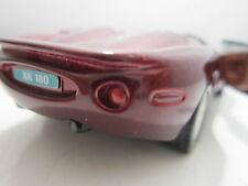 JAGUAR XK 180 BORDEAUX MAISTO TOY 1:37 Diecast Car Model PULL BACK ACTION