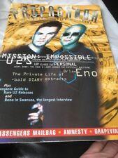 U2 Propaganda issue 24 Summer 1996 Fan Magazine