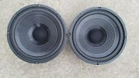 "RADIO SHACK  40-1036 10"" WOOFER PAIR, LOW PRICE, LOW SHIPPING, NEXT DAY SHIPPING"