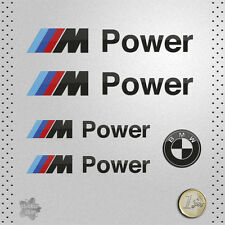 STICKER BMW POWER MOTORSPORT SERIE M M3 M5 DECAL AUTOCOLLANT AUFKLEBER ADESIVO