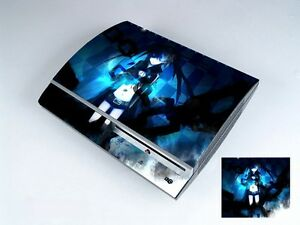 Black Rock 213 Vinly Skin Sticker Cover Protector for Sony PS3 PlayStation 3