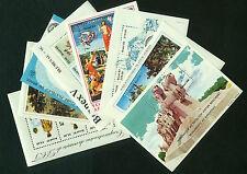 1981-1984 Brazil Collection of 8 Souvenir Sheets SS MNH - Art, Philately*