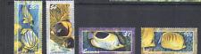 Samoa 2004 BUTTERFLYFISH/Marine 4v set ref:n13287