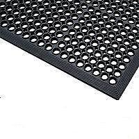 6 x Anti-Fatigue Rubber Safety Mats-1525mm x 915mm
