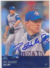 ROY HALLADAY TORONTO BLUE JAYS SIGNED 2003 BASEBALL CARD PHILADELPHIA PHILLIES