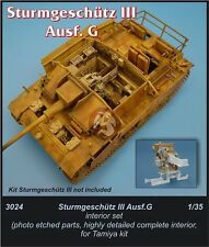 CMK 1/35 StuG III Ausf.G Tank Interior Detail Set WWII (for Tamiya kit) 3024