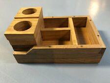 Hand Crafted Wood Desk Organizer