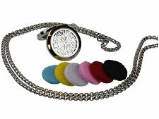 Greek 316L Surgical Stainless Steel Aromatherapy Essential Oil Diffuser Locket