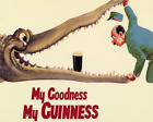Uptell My Goodness Guinness Metal Wall Sign 12X16 Inch Plaque Vintage Retro Sign