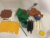 Super Mario Building Set 3D Land Prongo 2013 K'Nex Missing Pieces Not Complete