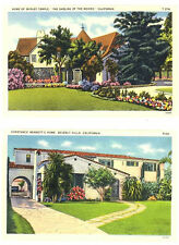 CA - BEVERLY HILLS - Homes of SHIRLEY TEMPLE & CONSTANCE BENNETT'S
