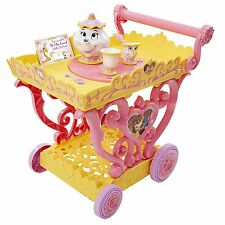 """Disney Beauty and the Beast Princess Belle Musical Tea Party Cart """"Be Our Guest"""""""