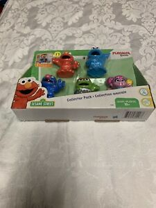Sesame Street Friends Pack 5 Toy Party Favors & Cake Toppers
