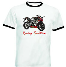 APRILIA SONIC GP 50  INSPIRED RACING - COTTON TSHIRT-ALL SIZES IN STOCK