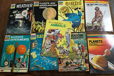 Mixed Lot Of 9 Vintage HOW AND WHY - WONDER WHY - EXPLORING EARTH Books Good