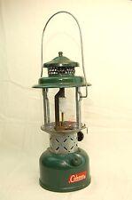 Vintage 1962 Coleman 220E 195 Lantern 2 Mantle 3-62 w Funnel Instructions