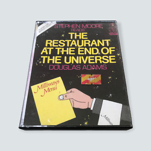 The Restaurant at the End of the Universe [Audio Tape Cassette] Douglas Adams 🐙