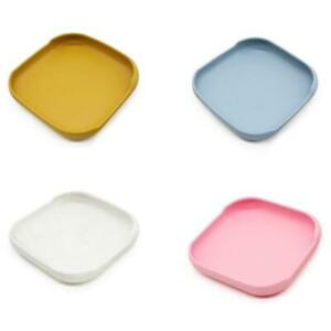 Baby Suction Cup Bowl Dinner Plate Infants Learning Feeding Dish Silicone Bowl