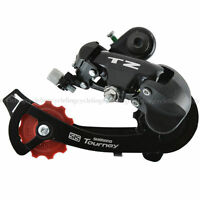 SHIMANO Tourney RD-TZ50 Rear Derailleur 6/7 - speed Direct Mount Black