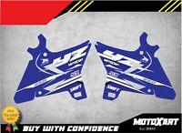 REFLEX style Radiator decals fits Yamaha YZ 250 UFO RESTYLE PLASTICS