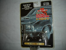 Racing Champions Mint Black '70 Dodge Super Bee w/Real Riders 1 OF 9,999 1:64