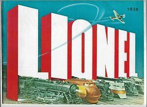 Lionel 1938 Reprint Reproduction Catalog
