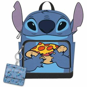 Disney Lilo & Stitch Pizza Mini Backpack & Coin Purse Set - New, With Tags