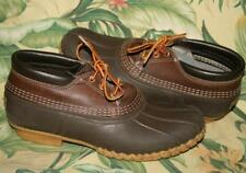 Mens LL BEAN Brown Duck Boots Shoes 12