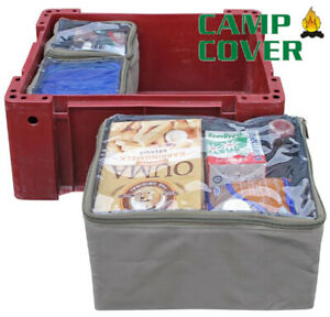 Camp Cover Wolf Box Pouches (1/2 + 1/4 + 1/4) - With Clear Tops - CCB004-A