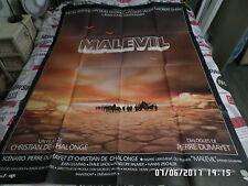 AFFICHE  SERRAULT / DUTRONC / VILLERET / MALEVIL