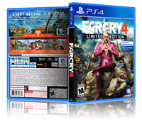 Far Cry 4: Limited Edition - ReplacementPS4 Cover and Case. NO GAME!!