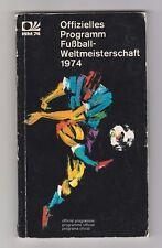 Orig.Komplette PRG   WM Deutschland 1974  -  alle Teams/Stadien/etc.  !!  SELTEN