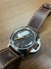 Panerai Luminor Automatic 47mm Power Reserve Stainless Steel Black Dial PAM00423