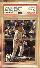 2018 Topps Update #US200 Gleyber Torres PSA Rookie!  Freshly Graded!