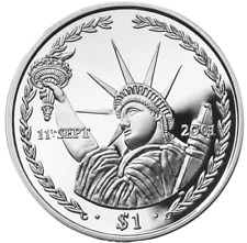 2001 Twin Towers Crown coin X 2