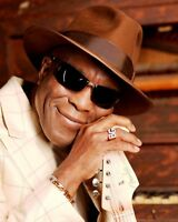 GLOSSY PHOTO PICTURE 8x10 Buddy Guy Posing With Hat And Glasses