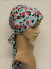 Chemo head snood, chemo head wear, chemo cap, bad hair day scarf, elegant tichel