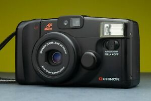 Chinon Auto 4001 Fully Automatic Compact Point and Shoot camera Lomography Japan