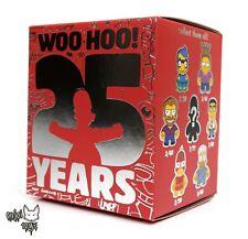 The Simpsons 25th Anniversary Mini Series Kidrobot - One(1) New Sealed Blind Box