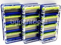 Schick HYDRO5 SENSE SENSITIVE Razor Refill - 3 Cartridges - 12 REFILLS - Bulk