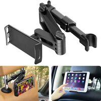 Adjustable 4-10'' Mobile Phone Holder Tablet Stand Car Headrest Mount Back Seat