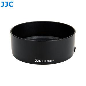 JJC Reversible Lens Hood as Canon ES-65B for RF 50mm F1.8 STM Lens on R5 R6 R RP