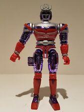 Vintage 1997 Bandai Spectra Beetleborg Platinum Purple Twirling Figure