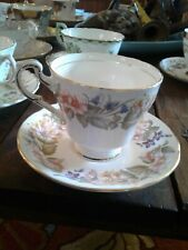 Paragon COUNTRY LANE (SCALLOPED RIM) Tea Cup & Saucer